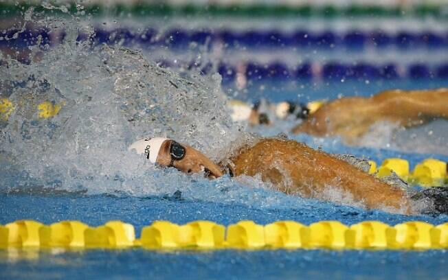Natalie Coughlin é a nadadora em atividade com o maior número de medalhas olímpicas: 12. Foto: Al Bello/Getty Images
