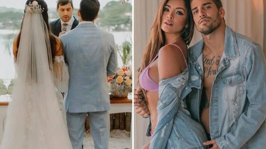 Guilherme Leonel fala em fim do casamento com Carol Nakamura