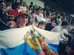 Treino russo teve mais de 4.000 espectadores nas arquibancadas