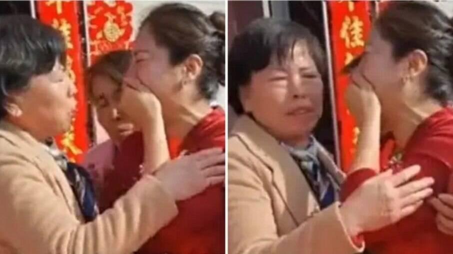 Noiva descobre que sogra é sua mãe no casamento