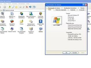 No Painel do Controle é possível ver qual a versão do Windows seu computador está rodando