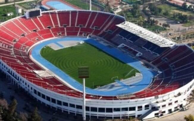 Estádio Nacional de Santiago, no Chile