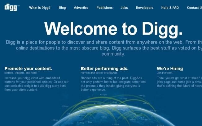 Digg será integrado ao serviço News.me