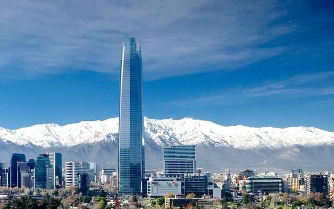 Santiago, no Chile, é um dos destinos para fugir do carnaval