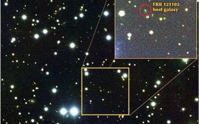Fonte de ondas de rádio estão a 3 bilhões de anos-luz da Terra