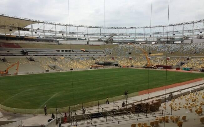 Maracanã será o palco na final da Copa das  Confederações e da Copa do Mundo de 2014
