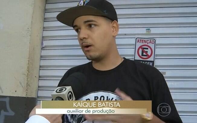 Reportagem da Globo com Batista