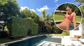 Anitta curte piscina em mansão de R$ 7,9 milhões em Miami