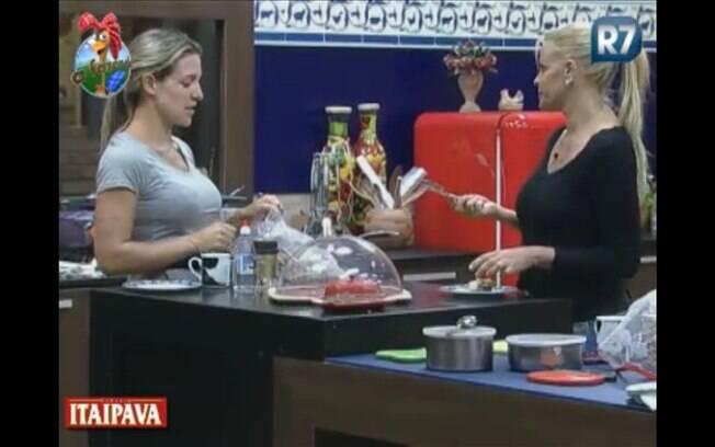 Monique e Joana falam sobre a reta final do programa