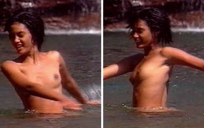 Taís Araújo nas cenas de rio de