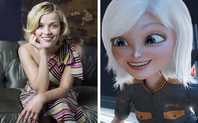 Reese Witherspoon – Susan Murphy (Monstros vs. Alienígenas)
