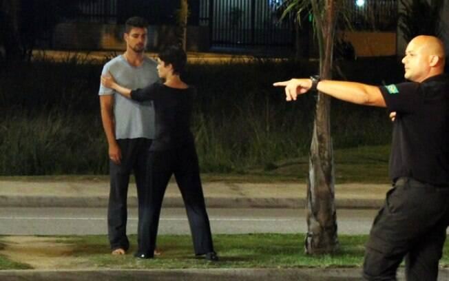 Débora Falabella e Cauã Reymond em ação