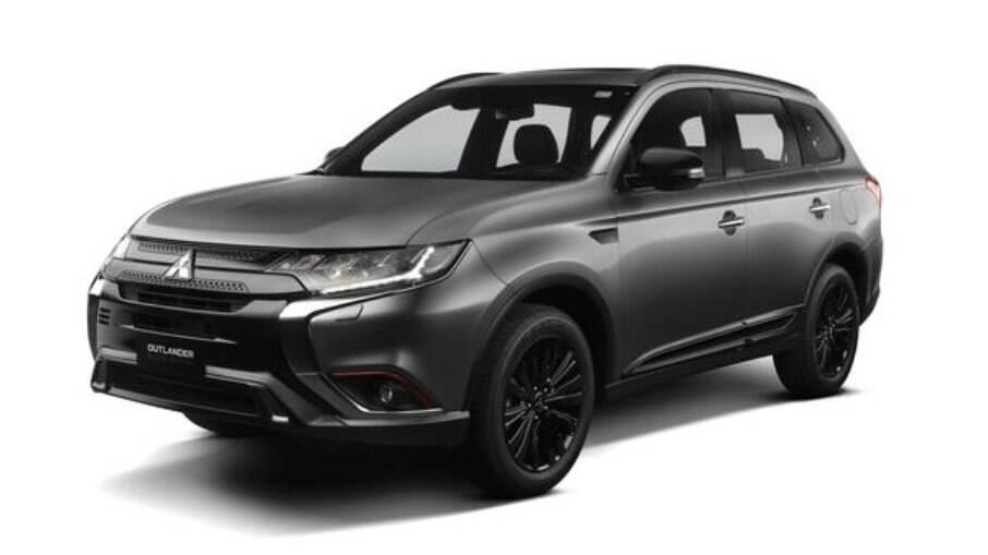 Mitsubishi Outlander Black Edition é limitada a somente 30 unidades, produzida sobre a versão topo de linha HPE-S
