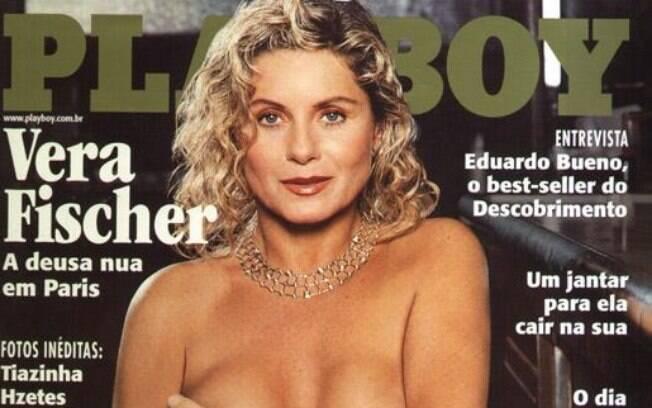 Vera Fischer posou para a 'Playboy' aos 49 anos