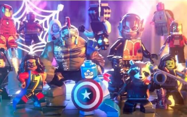 LEGO Marvel Super Heroes 2 conta com um modo multijogador local de quatro jogadores