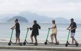 Lei aprovada no Rio exige prova no Detran para uso de patinetes elétricos