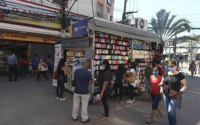 Prefeitura de Duque de Caxias liberou a abertura do comércio na cidade nesta segunda-feira