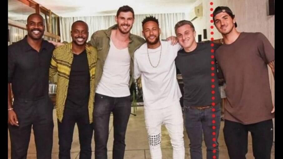 Neymar, Luciano Huck, Gabriel Medina, e outros famosos