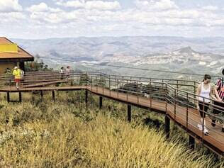 Parque tem dez mirantes que podem ser acessados por diversas trilhas