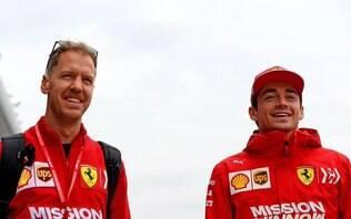 Vettel elogia Interlagos e Leclerc relembra inspiração em Ayrton Senna