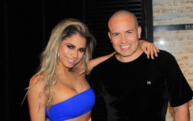 Lexa e Júnior Pacheco