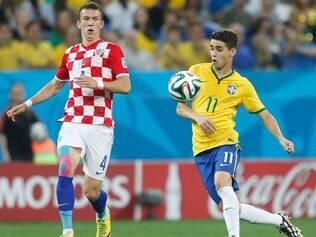 Oscar foi o nome do jogo na vitória brasileira sobre a Croácia