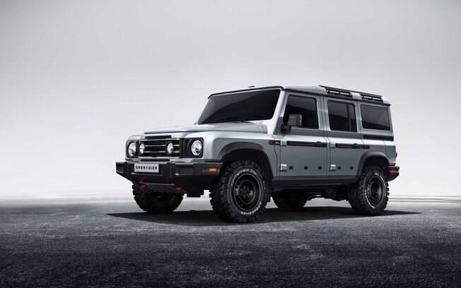 Ineos Grenadier chegará com mesmo estilo do Land Rover original para rivalizar com o novo Defender
