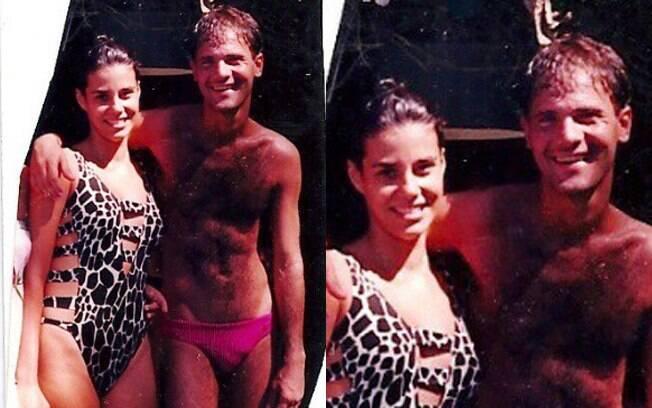 Narcisa Tamborindeguy relembrou sua amizade com Cazuza e publicou uma foto antiga no Instagram