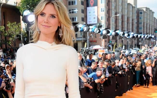 Heidi Klum em 2012, aos 38 anos