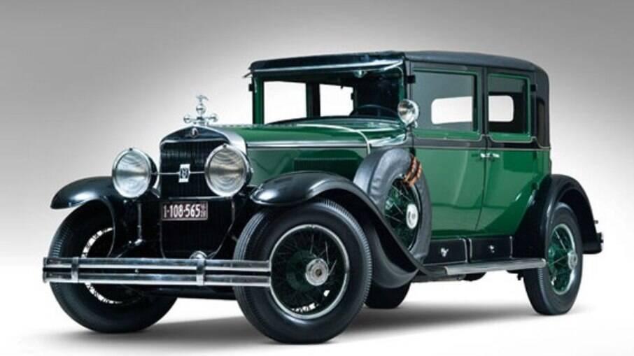 Cadillac 1928 blindado: carro de Al Capone foi i primeiro modelo do gênero de uso civil registrado no mundo