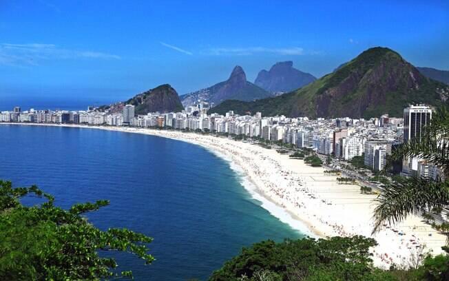 Rio de Janeiro conta com belas praias e muitas atrações