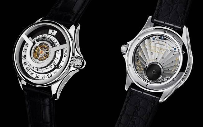 Cada relógio é vendido por US$ 195 mil. Apenas 20 unidades foram produzidas