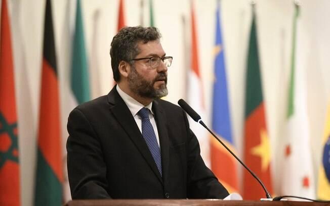 Ernesto Araújo afirmou que globalismo ocorreu no momento em que o
