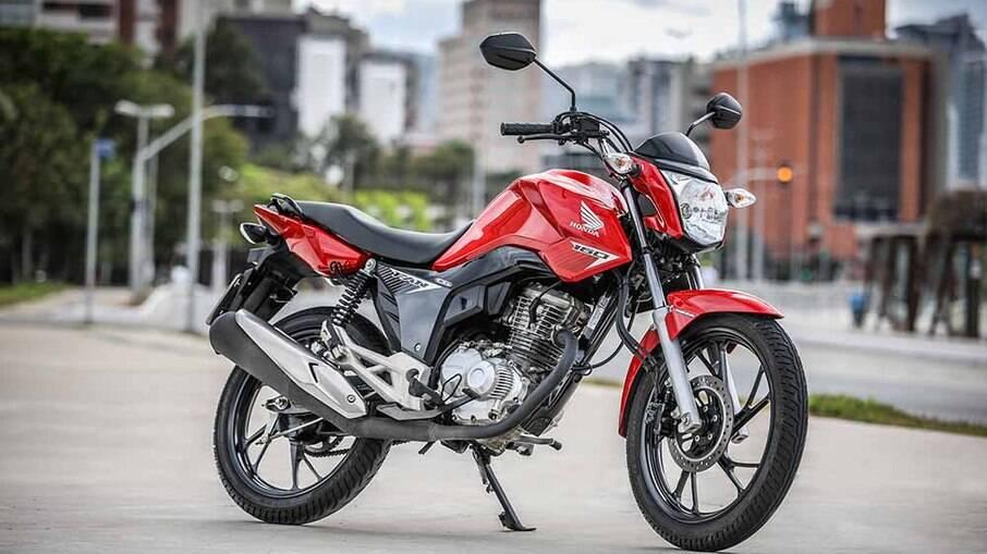 Honda CG 160: apenas 4,6% de desvalorização no primeiro ano de uso conforme estudo da Agência Autoinforme