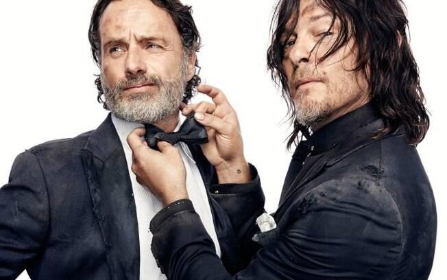 """Muita ação e explosões: atores de """"The Walking Dead"""" comentam 8ª temporada"""