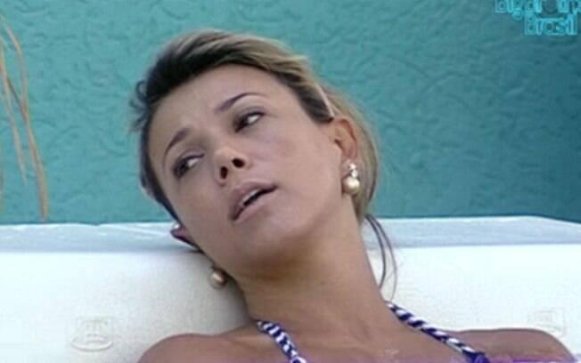 Fabiana vê Fael como forte candidato no reality show