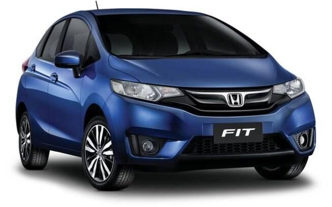 O Honda Fit lidera com folga, sem possibilidade de ser ultrapassado  por nenhum concorrente do segmento