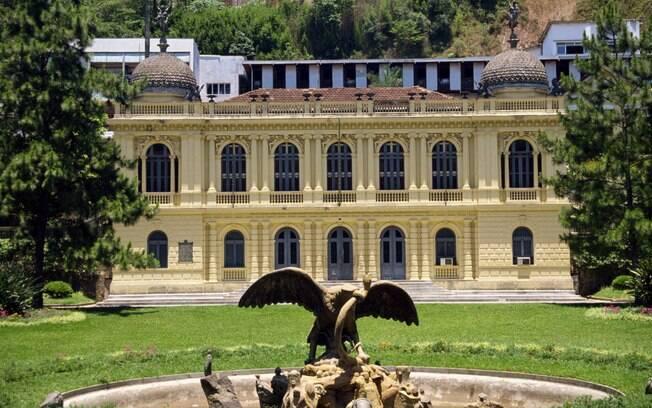 Em Petrópolis, os visitantes fazem uma volta ao período imperial