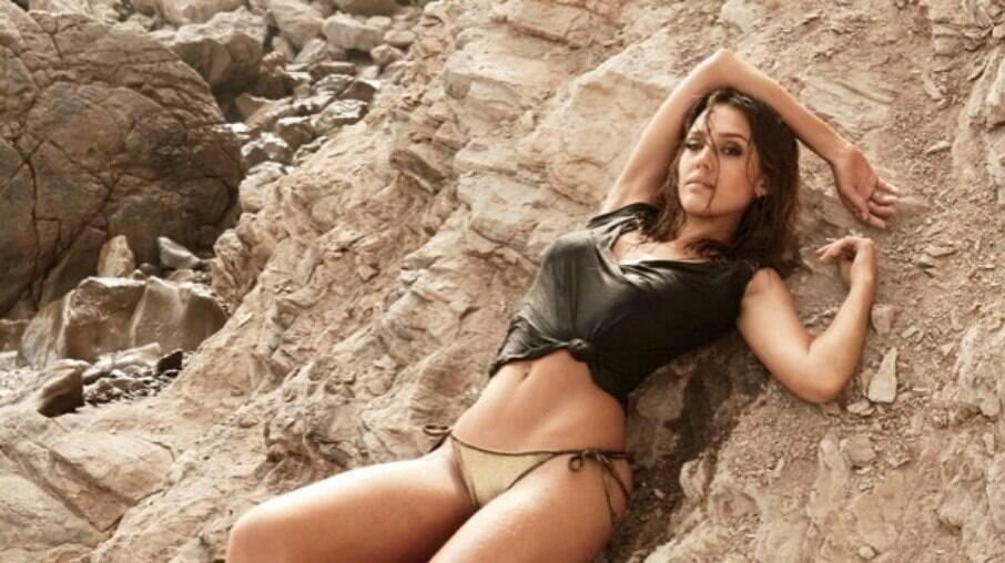Jessica Alba já foi eleita a mulher mais sexy do Mundo pela revista Maxim
