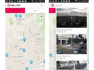 Gratuito e disponível para Android e iOS, o Vejaaovivo reúne imagens de mais de 900 pontos de câmeras espalhadas pelo Brasil para ajudar os motoristas no seu dia-a-dia