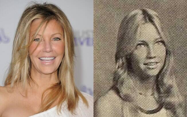 Heather Locklear passou pelo yearbook de 1979 do Newbury Park High School, Califórnia
