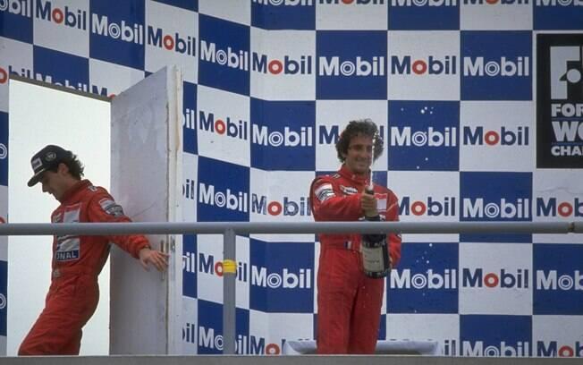 Senna e Prost estarão no novo jogo da Fórmula 1.