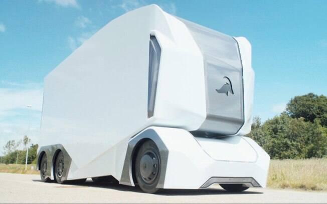 Enride Truck: modelo sueco também é autônomo e pode rodar até 200 quilômetros até precisar de uma recarga elétrica