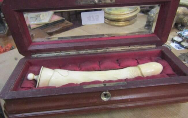O preço estimado do pênis de marfim fica entre 500 e 800 euros