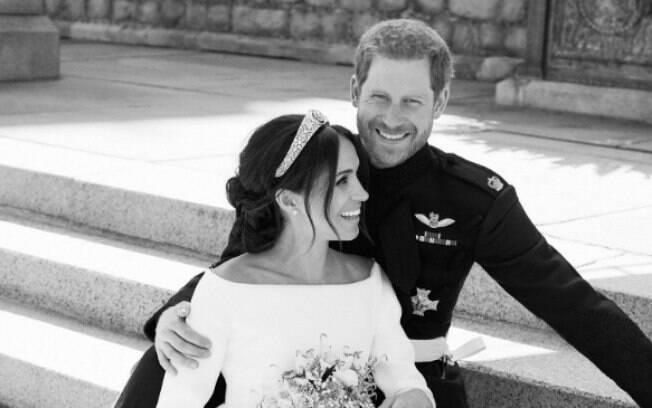 Meghan Markle e príncipe Harry se casaram em 2018, em um ano agitado para a família real britânica