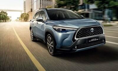 Toyota mostra SUV do Corolla, que será feito no Brasil em 2021
