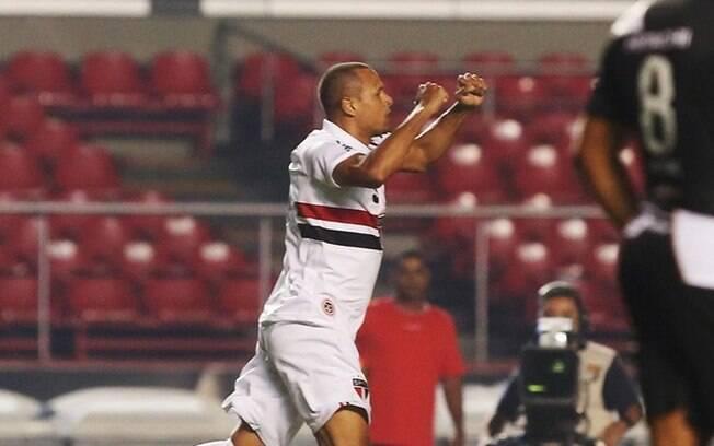 Luis Fabiano, atacante do São Paulo