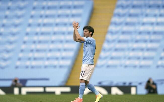 David Silva defendeu o Manchester City por 10 anos