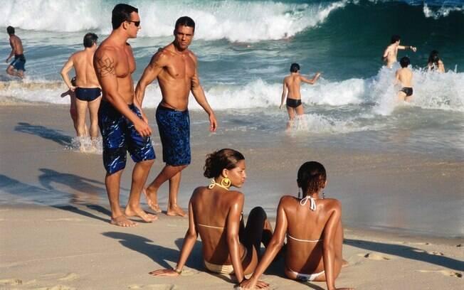 Está solteiro e quer diversão? Descubra as dez melhores praias para paquerar. Foto da praia de Ipanema