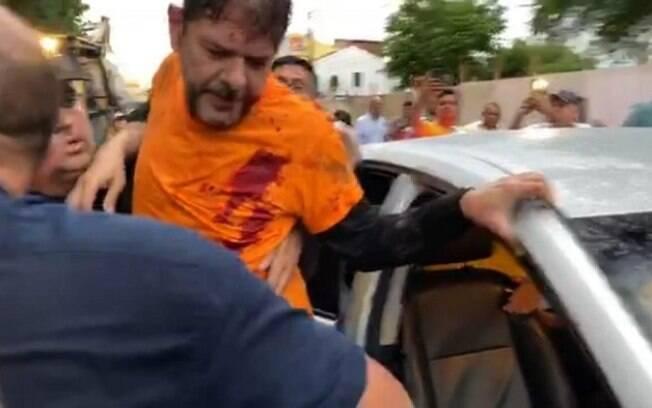 Senador Cid Gomes foi baleado nesta quarta (18)
